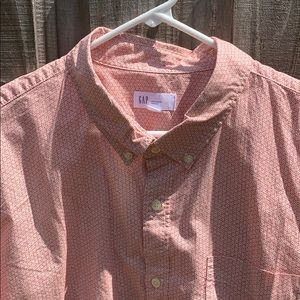 Men's omg sleeve button up Oxford XXL